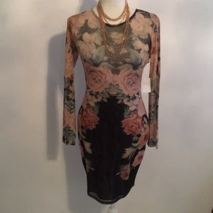 NWT Charlotte Russe Fitted Dress